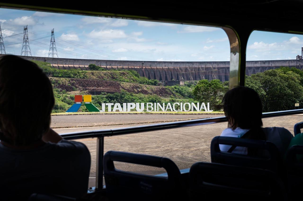 Turismo de experiência na Usina de Itaipu