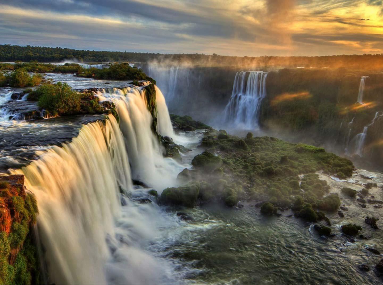 Pôr do Sol Cataratas do Iguaçu