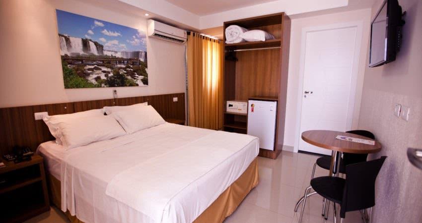 Quarto Individual em Foz do Iguaçu - Del Rey Quality Hotel