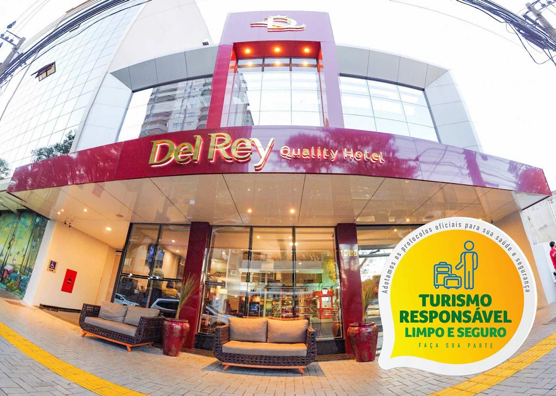 Fachada do Del Rey Quality Hotel