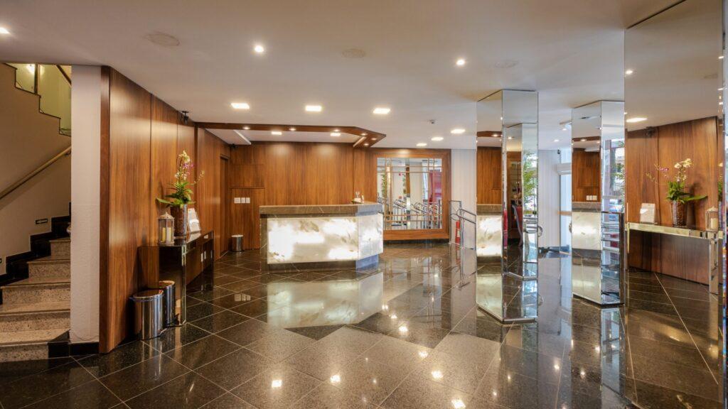 Recepção Del Rey Quality Hotel