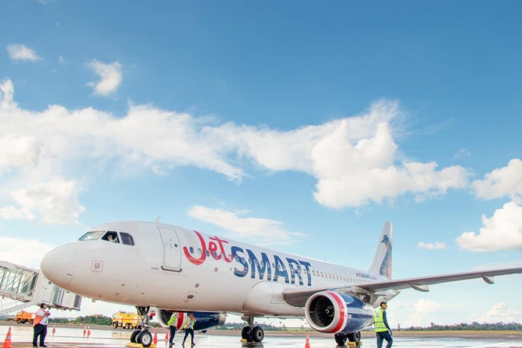 Foz do Iguaçu e Santiago voando JetSmart - Aeroporto
