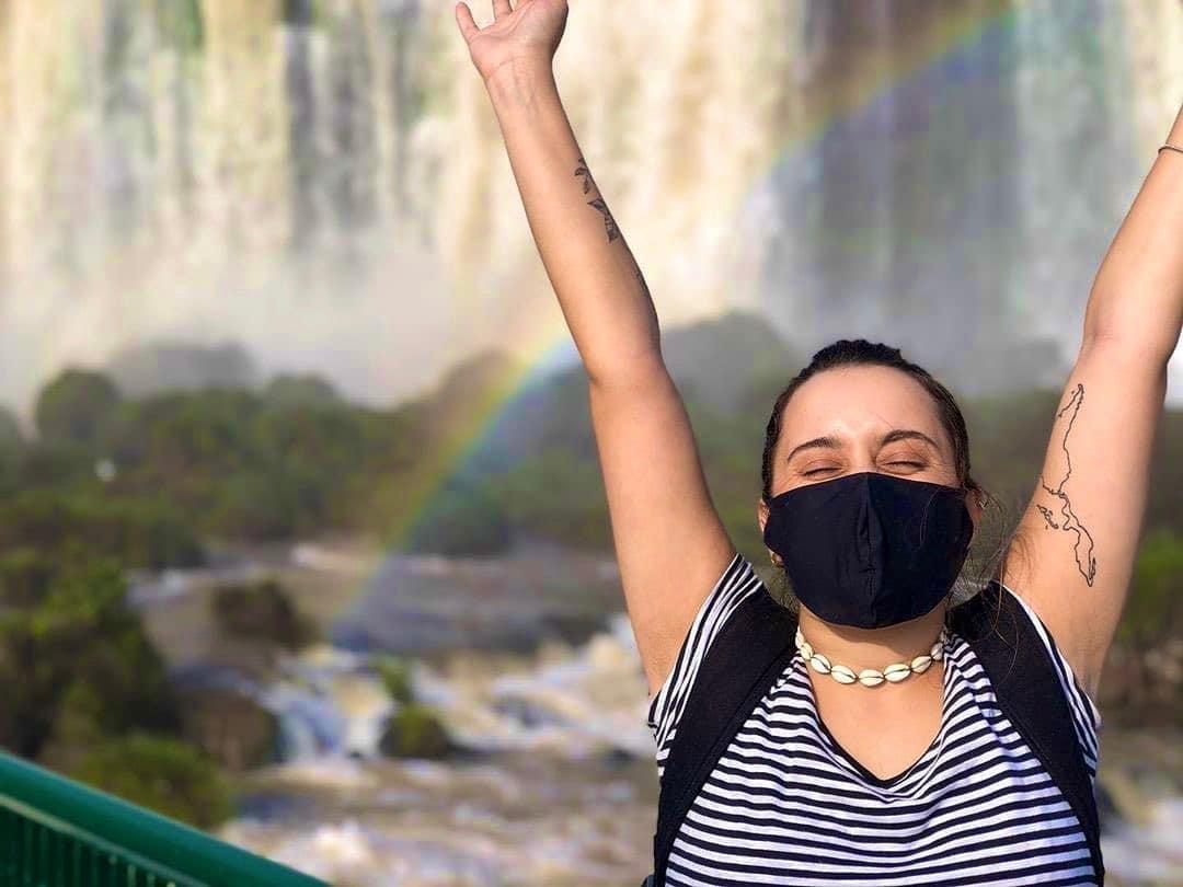 Cataratas do Iguaçu dentro do Parque Nacional.