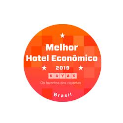 Selo KAYAK - Hotel Mais Econômico