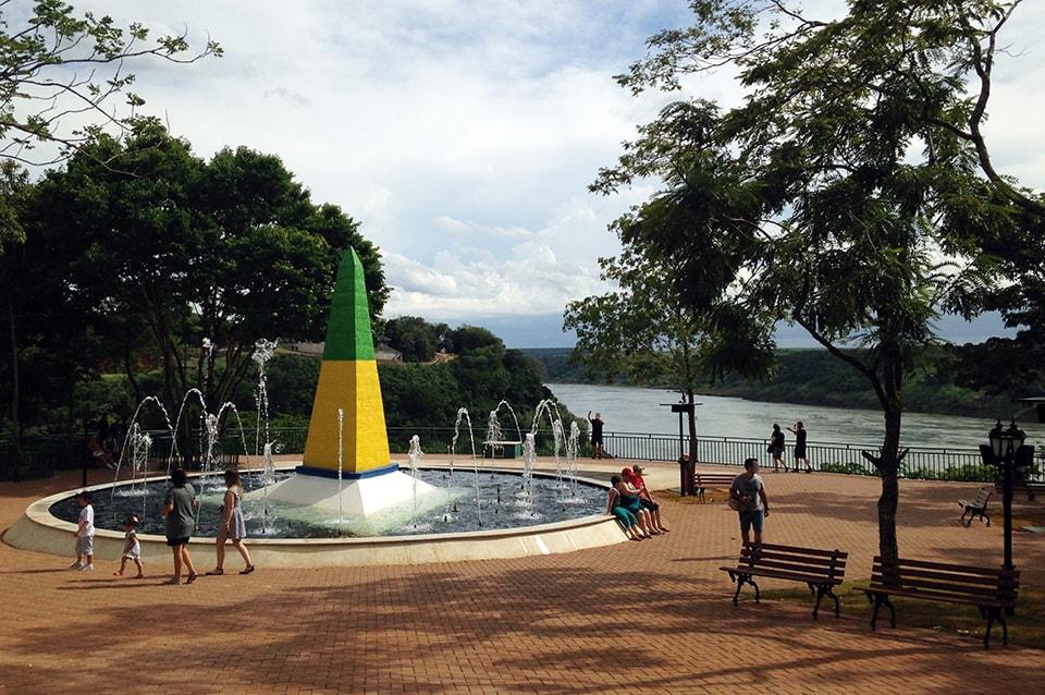 Marco das três fronteiras - 4 dias em Foz do Iguaçu