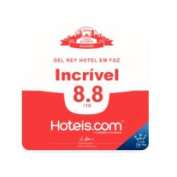 Nota Hoteis.com - Del Rey Quality Hotel em Foz do Iguaçu/PR
