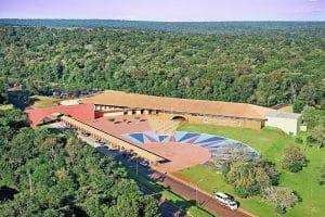 Parque Nacional do Iguaçu - Visão aérea