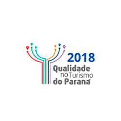 Selo 2018 de Qualidade no Turismo em Foz do Iguaçu - PR