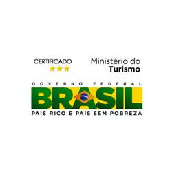 Certificado Três Estrelas Ministério do Turismo