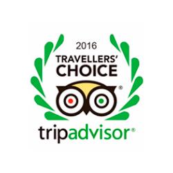 Travellers Choice TripAdvisor 2016