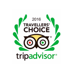 Traveler's Choice 2016 da Trip Advisor - Del Rey Quality Hotel