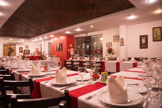 Restaurante 4 Sorelle em Foz do Iguaçu