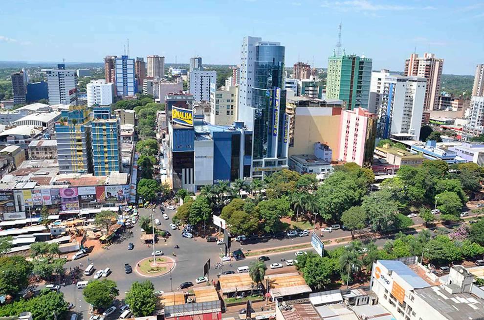 Black Friday 2020 - Atacado Games no Paraguai vista de cima.