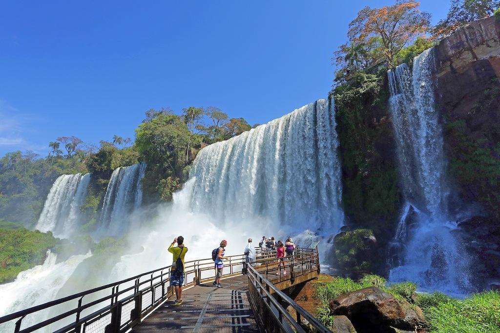 Cataratas do Iguaçu do lado argentino