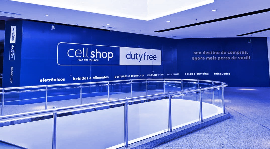 Cellshop Duty Free em Foz do Iguaçu