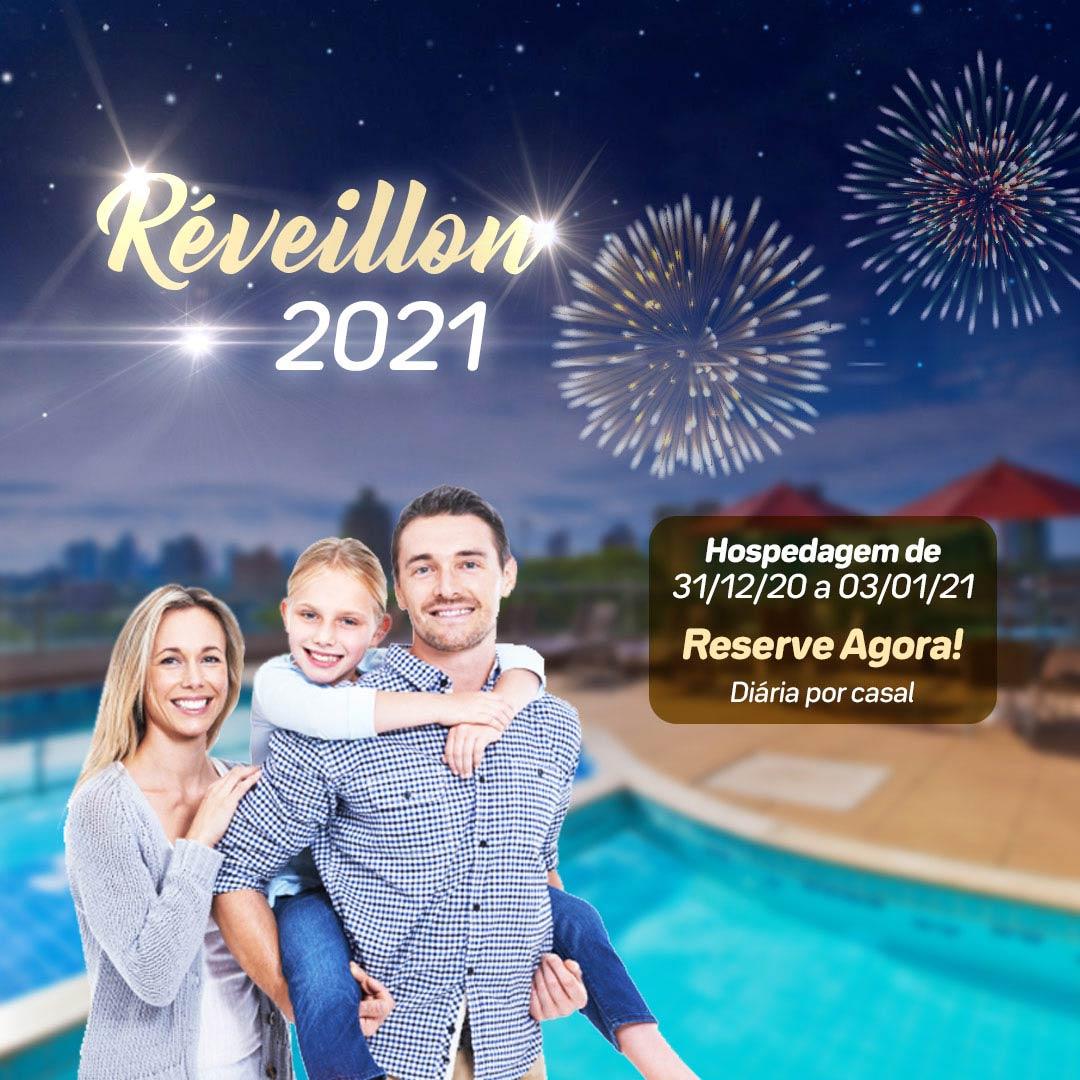 Ano Novo em Foz do Iguaçu 2020 no Del Rey Quality Hotel