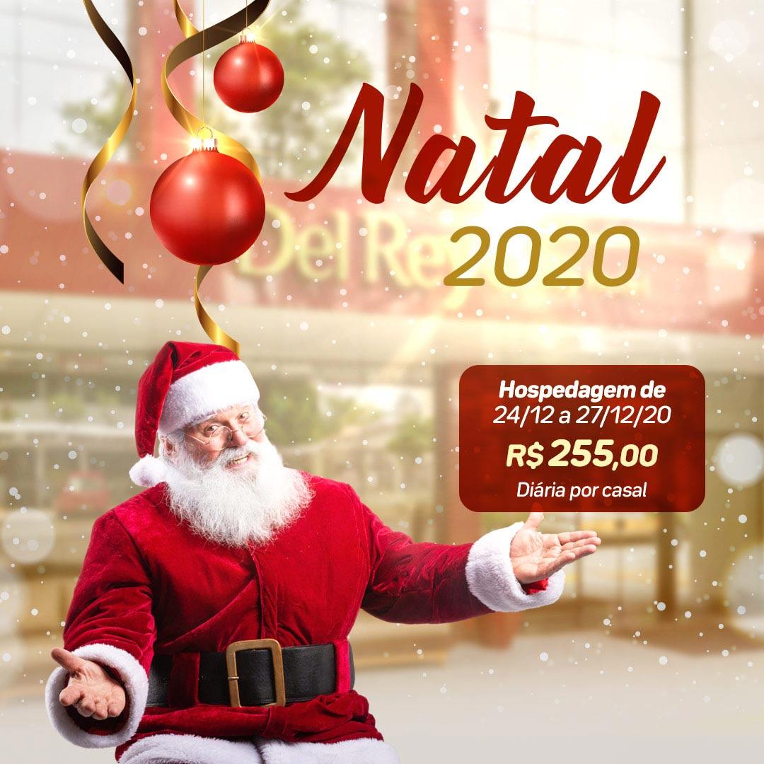 Natal em Foz do Iguaçu 2020 - Del Rey Quality Hotel