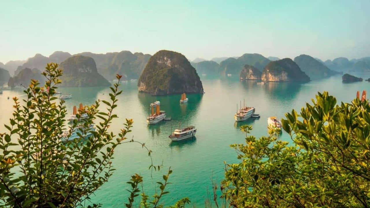 Baía de Ha Long no Viatnã