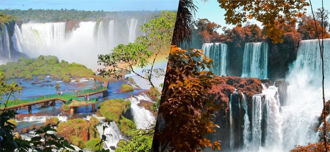 Cataratas do Iguaçu - 7 Maravilhas da Natureza