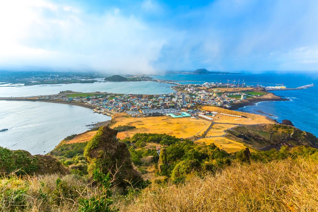 Ilha de Jeju na Coréia do Sul