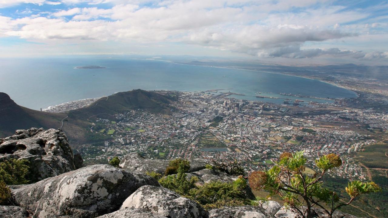 Montanha da Mesa na Africa do Sul, uma das 7 maravilhas da natureza
