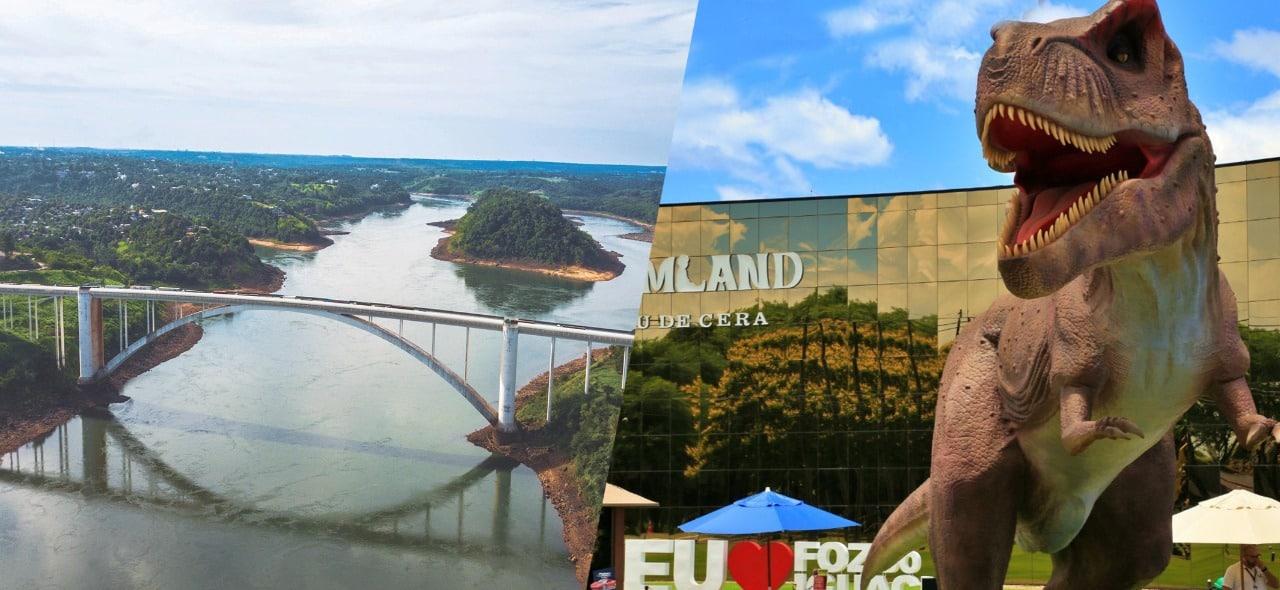Compras no Paraguai e Dreamland em roteiro ideal para visitar Foz do Iguaçu