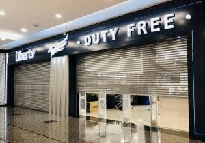Porta de Entrada da Liberty Duty Free no Shopping JL em Foz do Iguaçu
