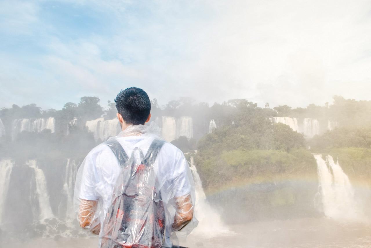 Viajar sozinho a Foz do Iguaçu