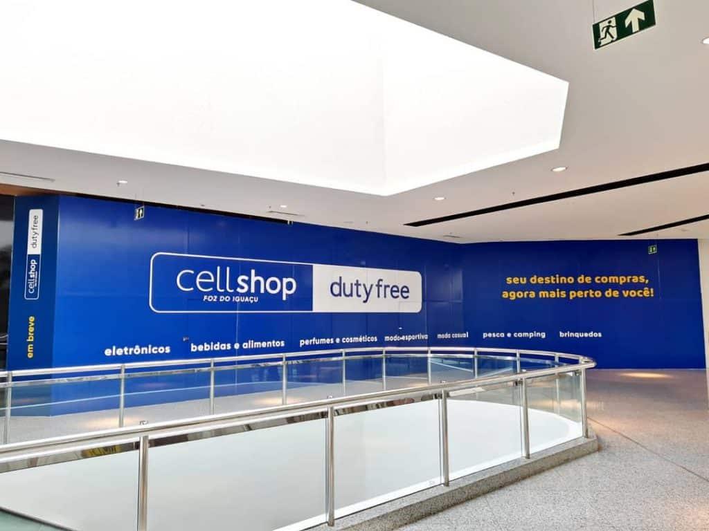 CellShop inaugura em Foz